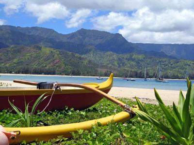 Hanalei Canoe